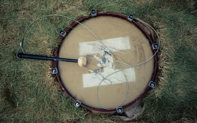 Earth Drums Installation at Artpark