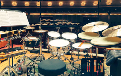 Drumming with Glenn