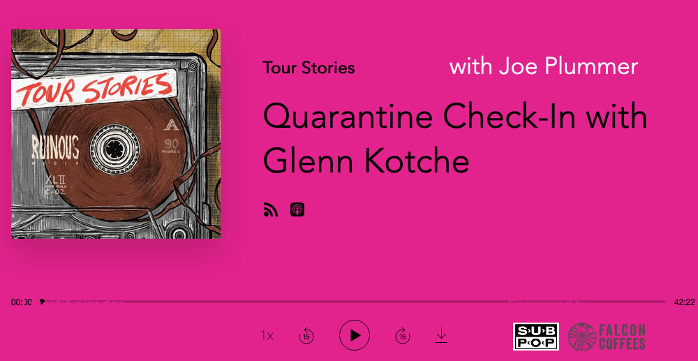Quarantine Check-In with Glenn Kotche